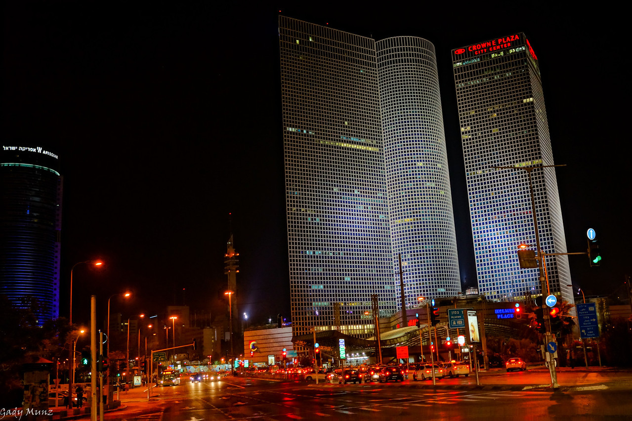 Tel Aviv - Azrielli Towers