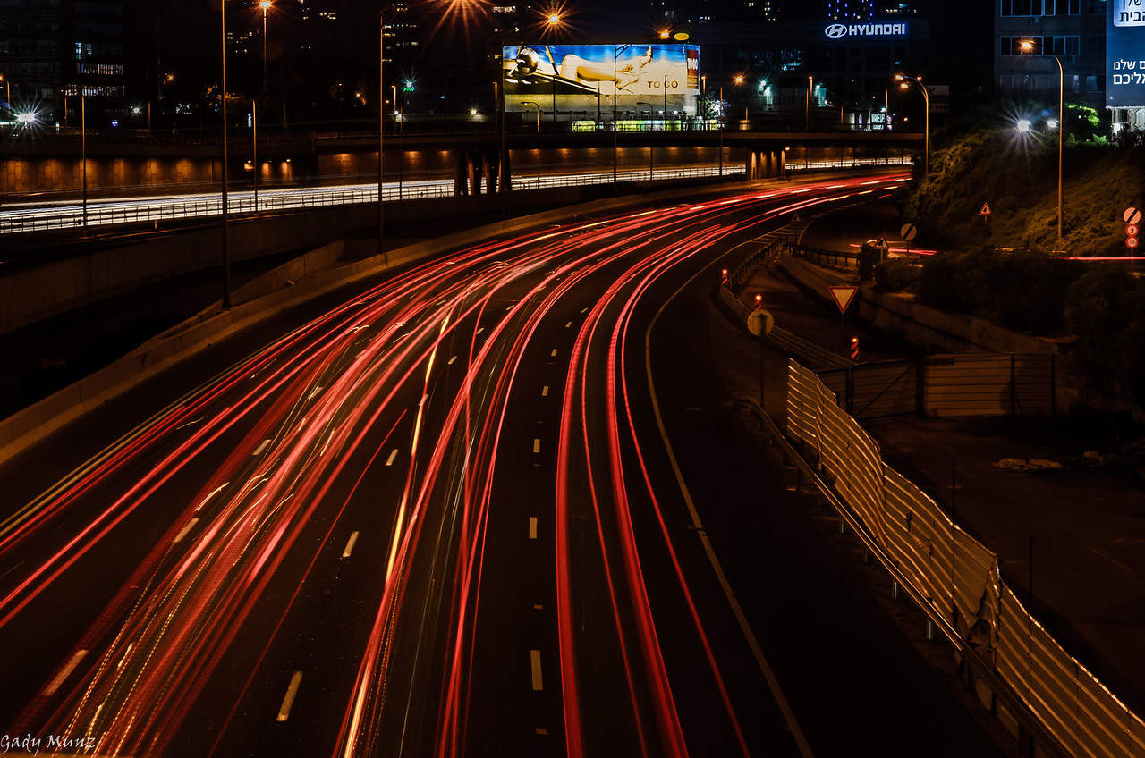 Tel Aviv - Ayalon road